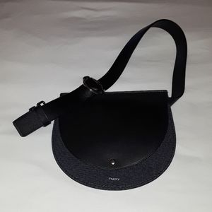 Theory Authentic Post Saddle Belt Bag